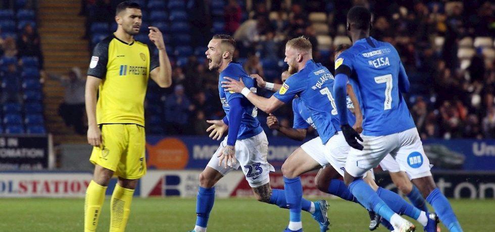 Joe Ward scores last-minute winner at home to Burton Albion in League One