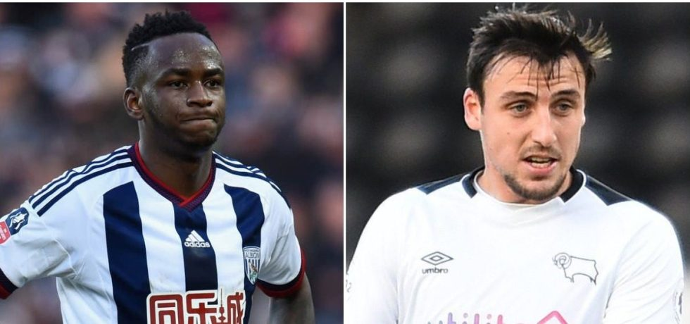 Saido Berahino and George Thorne