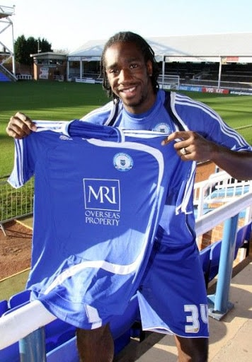 Exodus Geohaghon signing for Peterborough United from Kettering Town