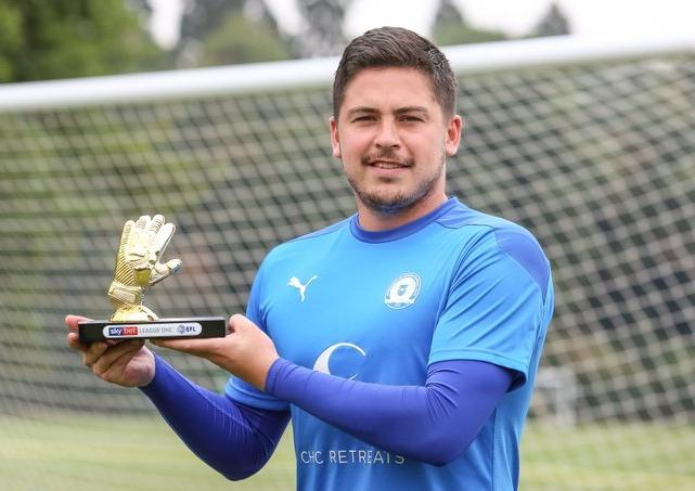 Christy Pym - Peterborough United goalkeeper wins League One Golden Glove award